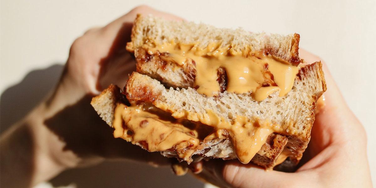 pasta sandwich